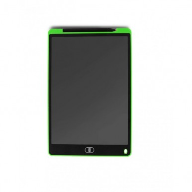 LCD Writing Tablet With Mouse Pad - 12 Inches - Green Color