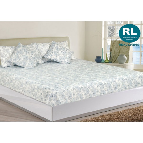 Real Living - Basic Bed Sheet A67