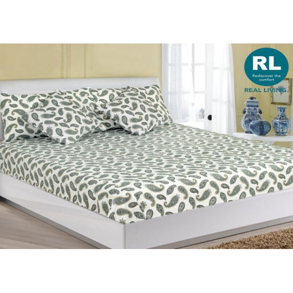 Real Living - Basic Bed Sheet A68