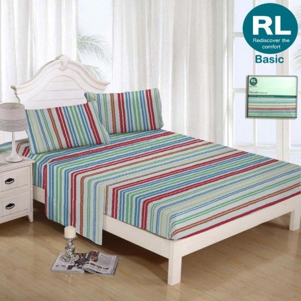 Real Living - Basic Bed Sheet A79