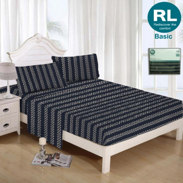 Real Living - Basic Bed Sheet A80