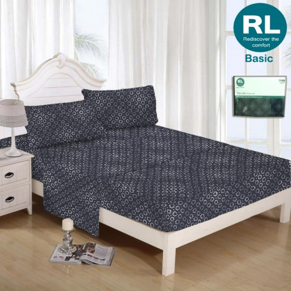Real Living - Basic Bed Sheet A30