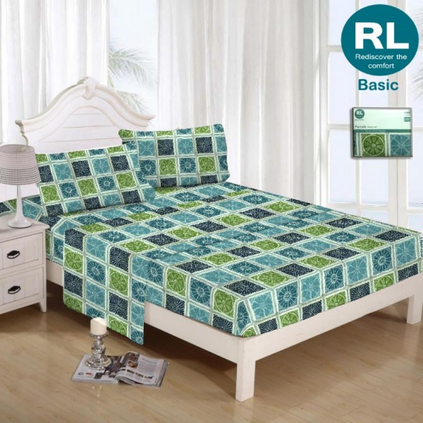 Real Living - Basic Bed Sheet A31