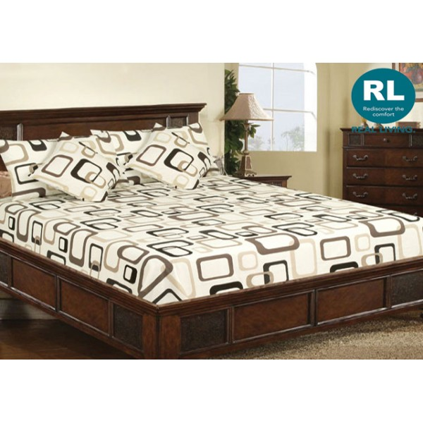 Real Living - Basic Bed Sheet A71
