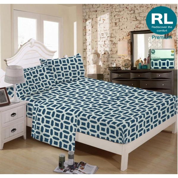 Real Living - Premium Bed Sheet A11