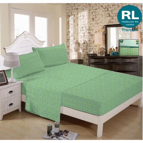 Real Living - Premium Bed Sheet A12