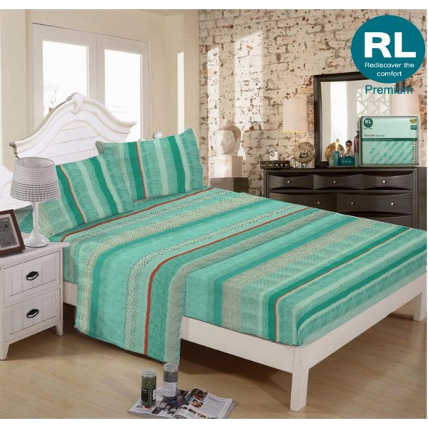 Real Living - Premium Bed Sheet A13