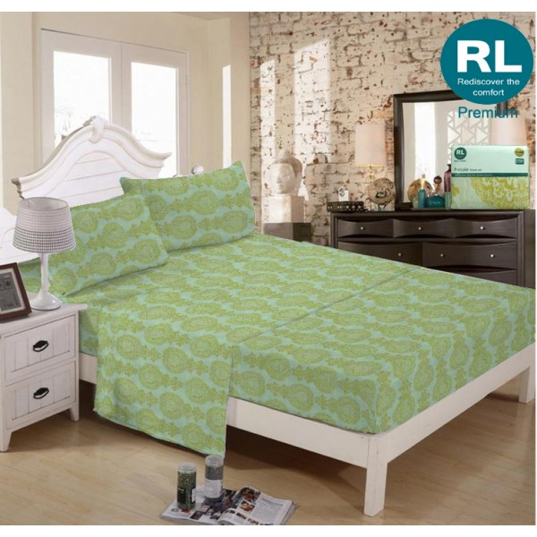 Real Living - Premium Bed Sheet A14