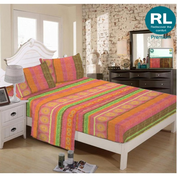 Real Living - Premium Bed Sheet A16