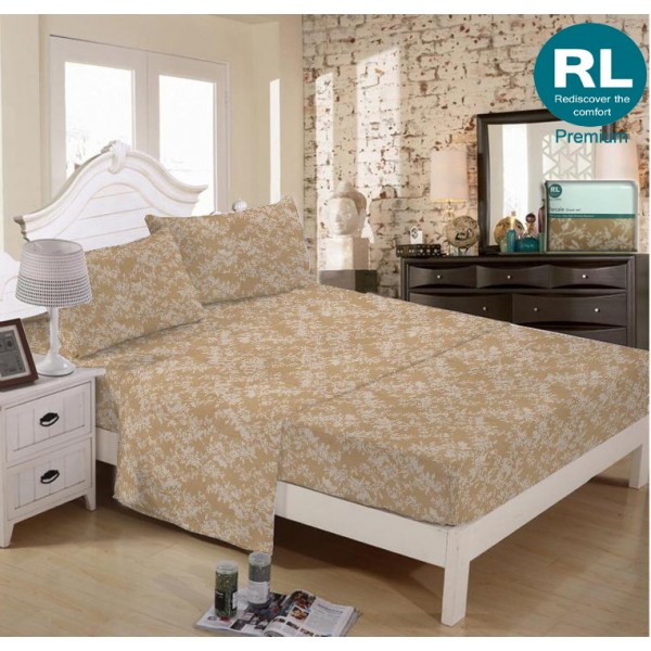 Real Living - Premium Bed Sheet A17