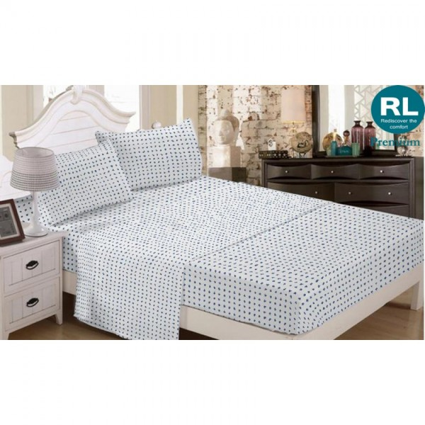 Real Living - Premium Bed Sheet A2