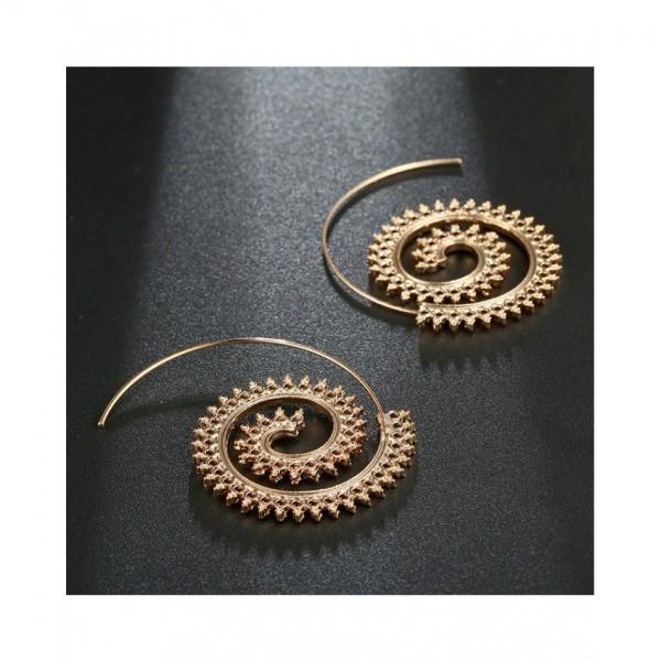 Gold Stylish Hoop Earring – AE18