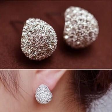 Silver Cresent Stud Earring Ladies Jewellery – AE47