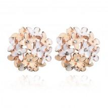 Flower Gold Stud Earring – AE53