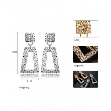 Silver Dangle Earrings for Women – AE13