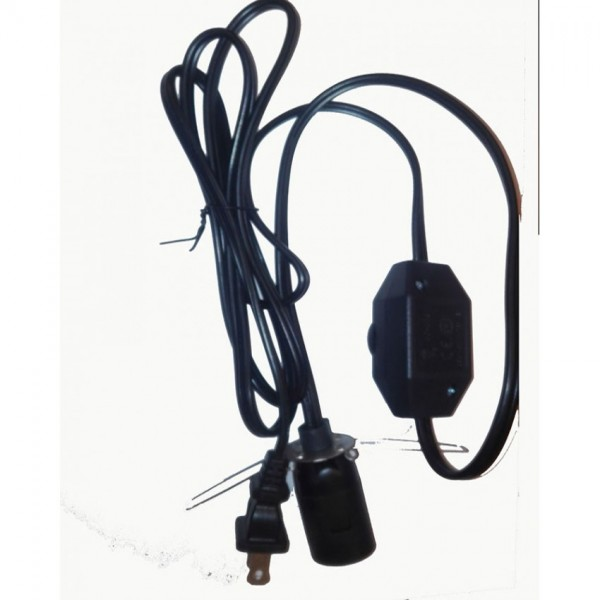 DIMMERABLE POWER CORD FOR LAMPS