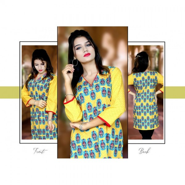 EGYPT KING and QUEEN DIGITAL PRINTED KURTI FOR WOMEN