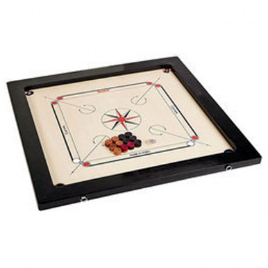 30 inch Wooden Carrom Board Game With Striker and Coins Set 30 Inches Large