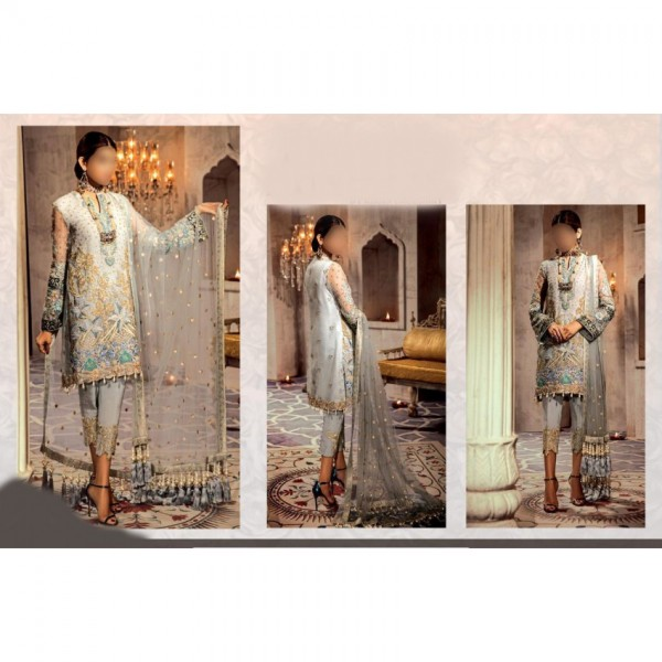 LUXURY EMBROIDERED ORGANZA COLLECTION FOR WOMEN