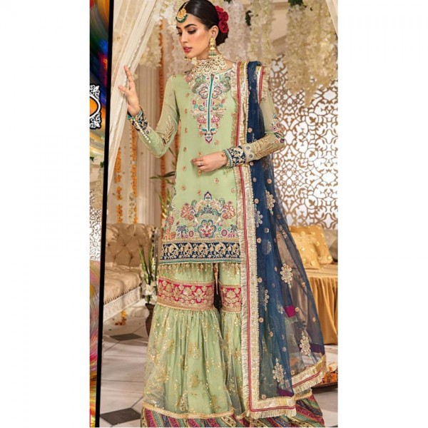 New Stylish Suite Hand Work Wedding Collection