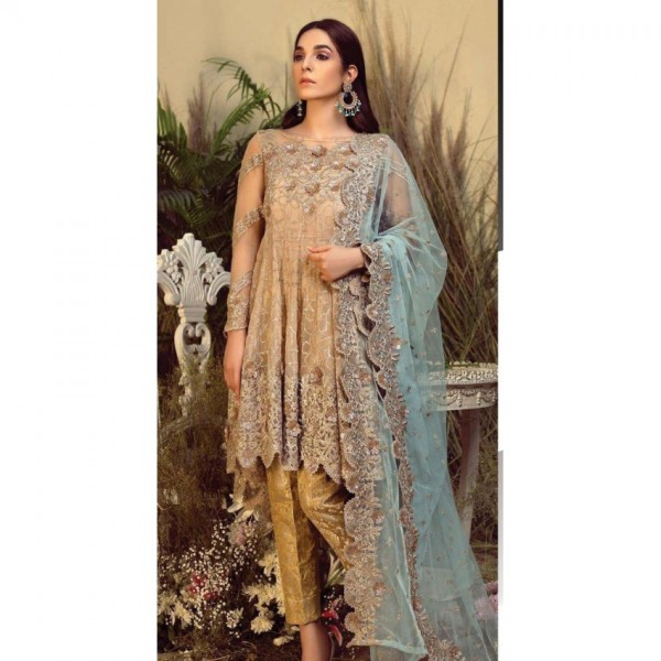 Wedding Edition Embroidery Dress For women