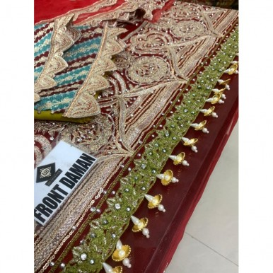 BEAUTIFUL EMBROIDERY AND HANDWORK DRESS