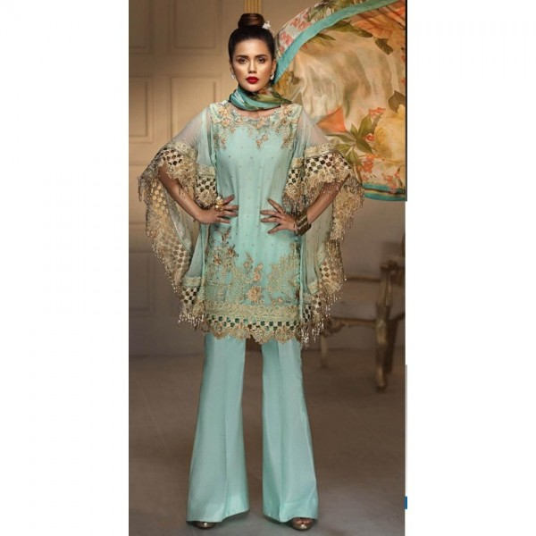 New Eid Embroidered Front collection Stylish wear for Women