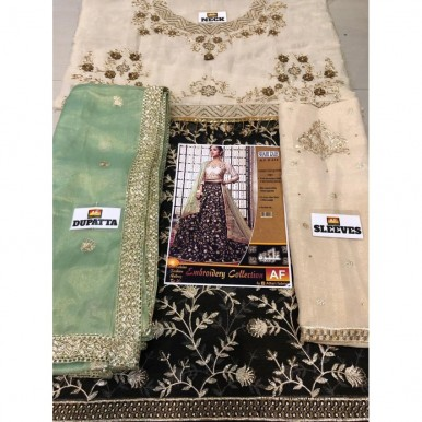 latest wedding New collection chiffon Langa maysori style shirt with maysori duppata