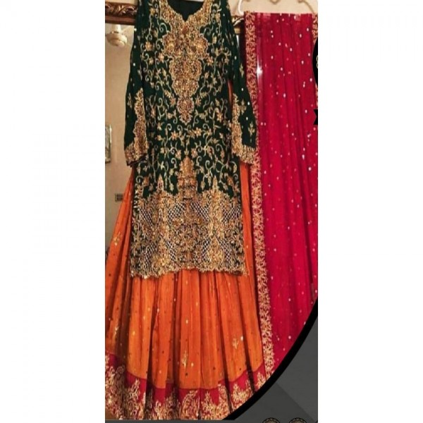 Latest Wedding collection Embroidered  for women