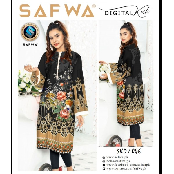 Digital Kurti Collection By SAFWA
