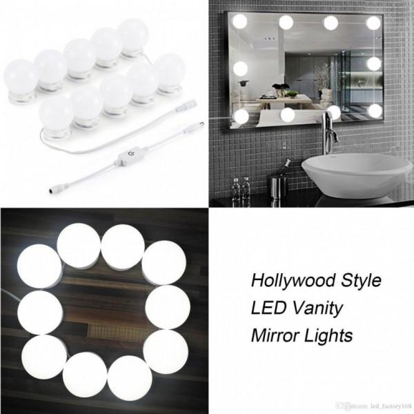Led vanity bulbs - Mirror Lights (Set of 10)