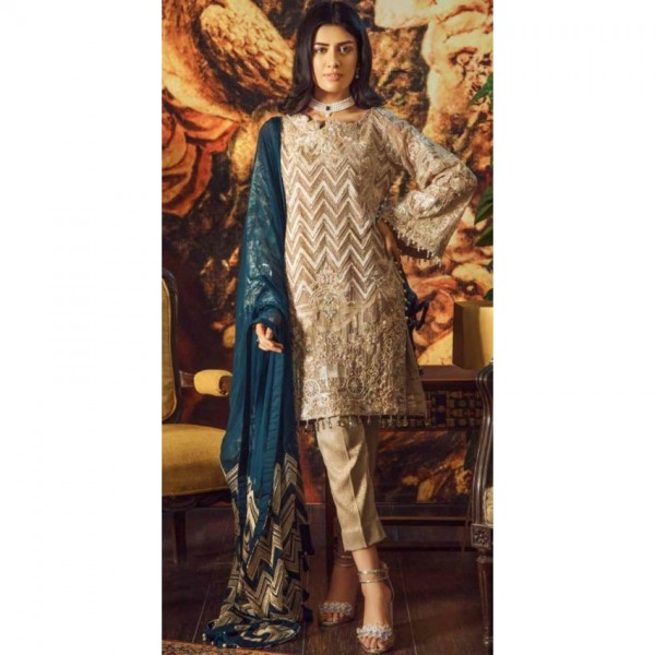 Sequence Work and Handwork chiffon collection