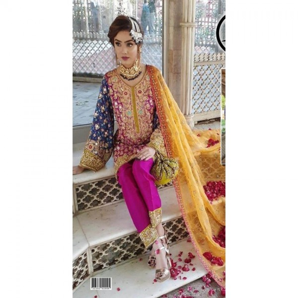 CHEFFONE EMBROIDERED BRIDAL COLLECTION