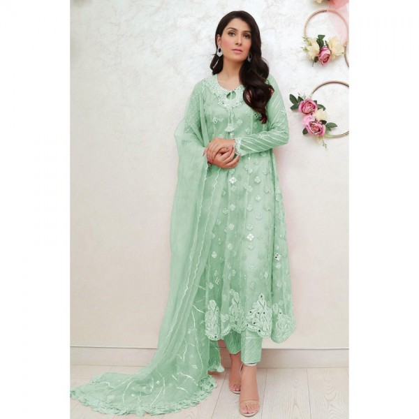 Beautiful Embroidered mirror collection Dress
