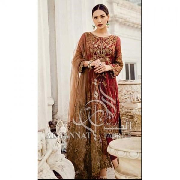 Best Women Party Wear Dress with net dupatta