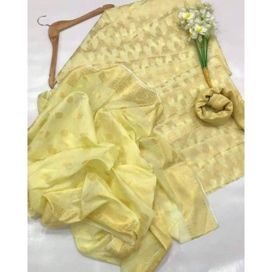 3pcs Cotton Jacquard Dress for Ladies
