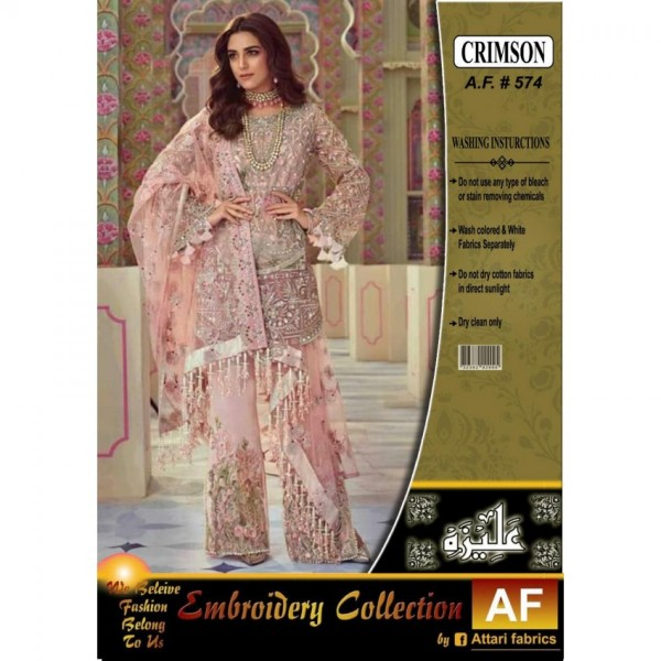 CRIMSON  WEDDING EDITION EMBROIDERY COLLECTION        full SUITE HAND WORK