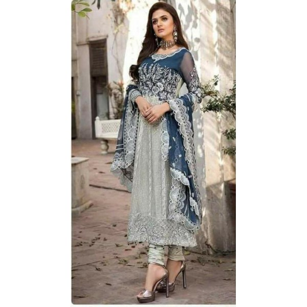 Elegant Style Sequence Embroidery Dress