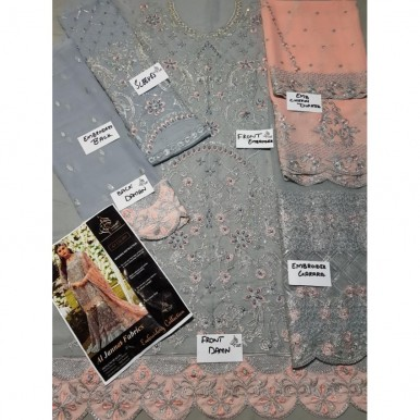 Stylish collection  Party Wear for women Full Heavily Embroidered with Handwork
