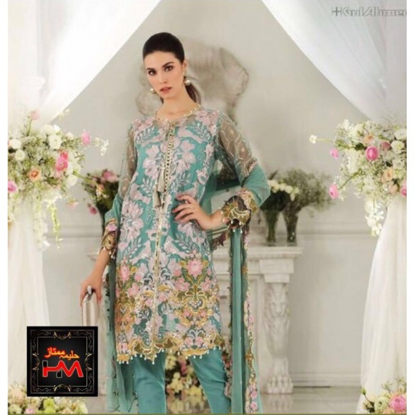 New arrival Fully Handwork & Embroidered Party wear