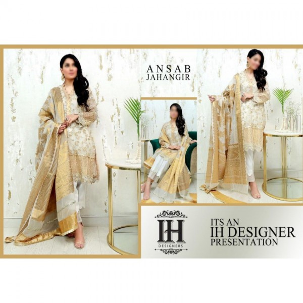 New Chiffon collection Embroidered Party wear for women