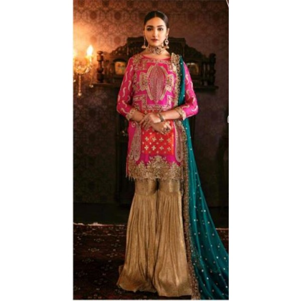 Embroidred Dress For Women Wedding Edition