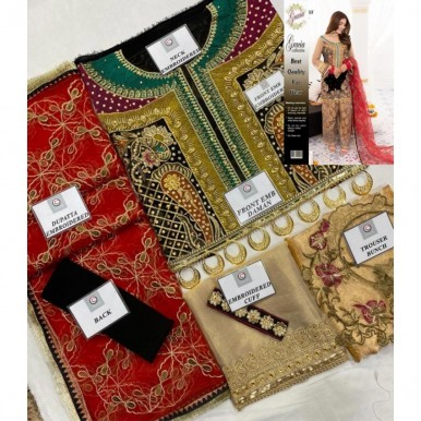 Embroidered party wear collection