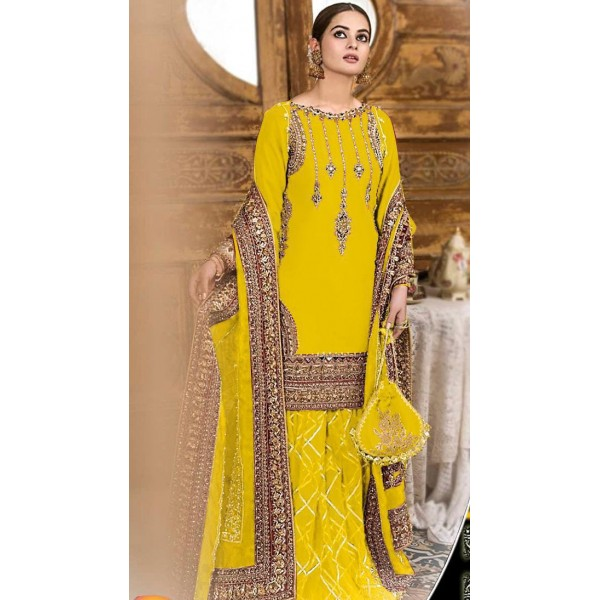 Yellow Color Dress for Her