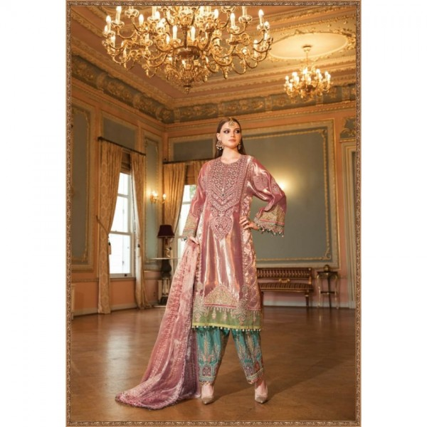 Embroidered Maysoori Dress for Weddings and Parties