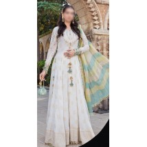 3pcs Summer lawn Embroidered Dress for her