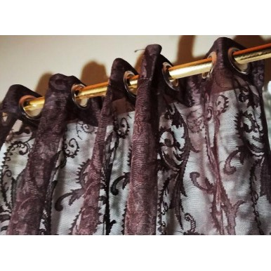 Pair Of 2 Net Curtains