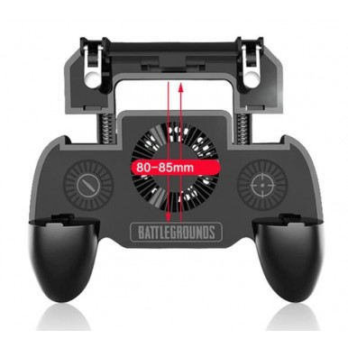 PUBG Game Pad Joystick SP with 2000MAH Power Bank and Powerful Fan