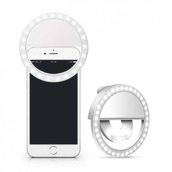 Selfie Light Ring Lights LED Circle Light for Cell Phone and Laptop Camera