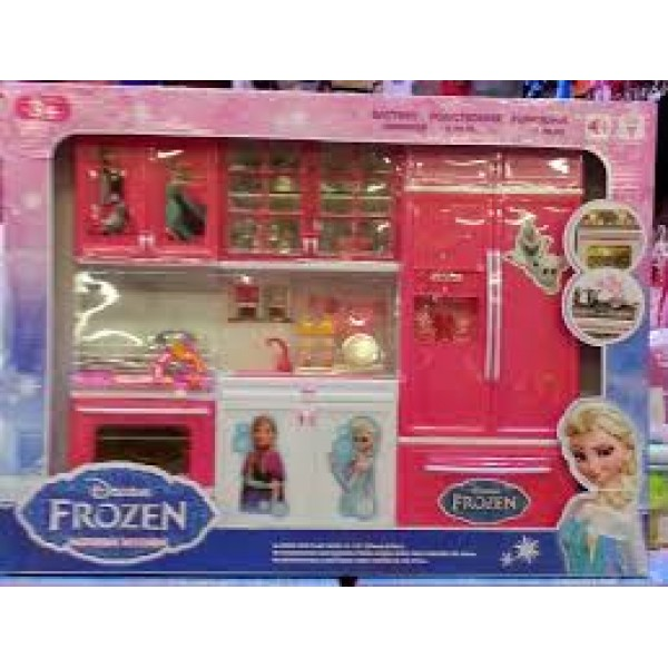 frozen kitchen set for baby girls